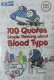 Jual Uranus Haru 100 Quotes Simple Thinking About Blood Type Baru