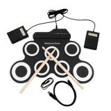 Ulasan Mengenai Ustore Usb Elektronik Drum G3002 Drum Kit Drum Set Perkusi Instrumen Untuk Anak Hitam Putih Intl