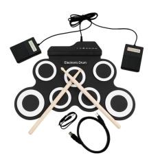 Toko Ustore Usb Elektronik Drum G3002 Drum Kit Drum Set Perkusi Instrumen Untuk Anak Hitam Putih Intl Oem