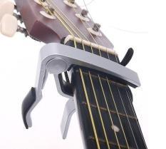 Vertikal Gitar Calibrator Memegang Kuat Gitar Yukari Lane Adjustable Clip Tune Pemegang-Intl