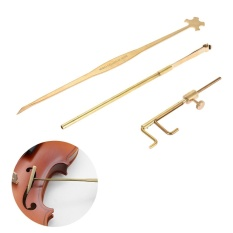 Harga Violin Luthier Alat Kit Set Stand Security Gauge Measurer Retriever Clip Setter Kuningan Internasional