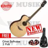 Spesifikasi Yamaha Gitar Akustik Elektrik Apx 600 Natural Gratis Softcase 2 Pick Online