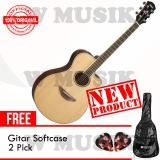 Harga Yamaha Gitar Akustik Elektrik Apx 600 Natural Gratis Softcase 2 Pick Yamaha Dki Jakarta