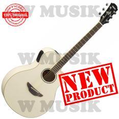 Toko Yamaha Gitar Akustik Elektrik Apx 600 Vintage White Murah Di Dki Jakarta