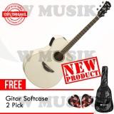 Harga Yamaha Gitar Akustik Elektrik Apx 600 Vintage White Gratis Softcase 2 Pick Murah