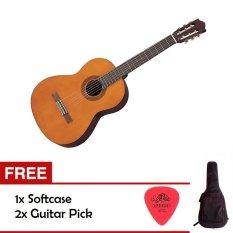 Yamaha Guitar C40 - Cokelat + Gratis Good Quality Softcase & 2 pick