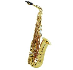 Zeff France Alto Saxophone Zas-600 - Gold By Makin Jaya.