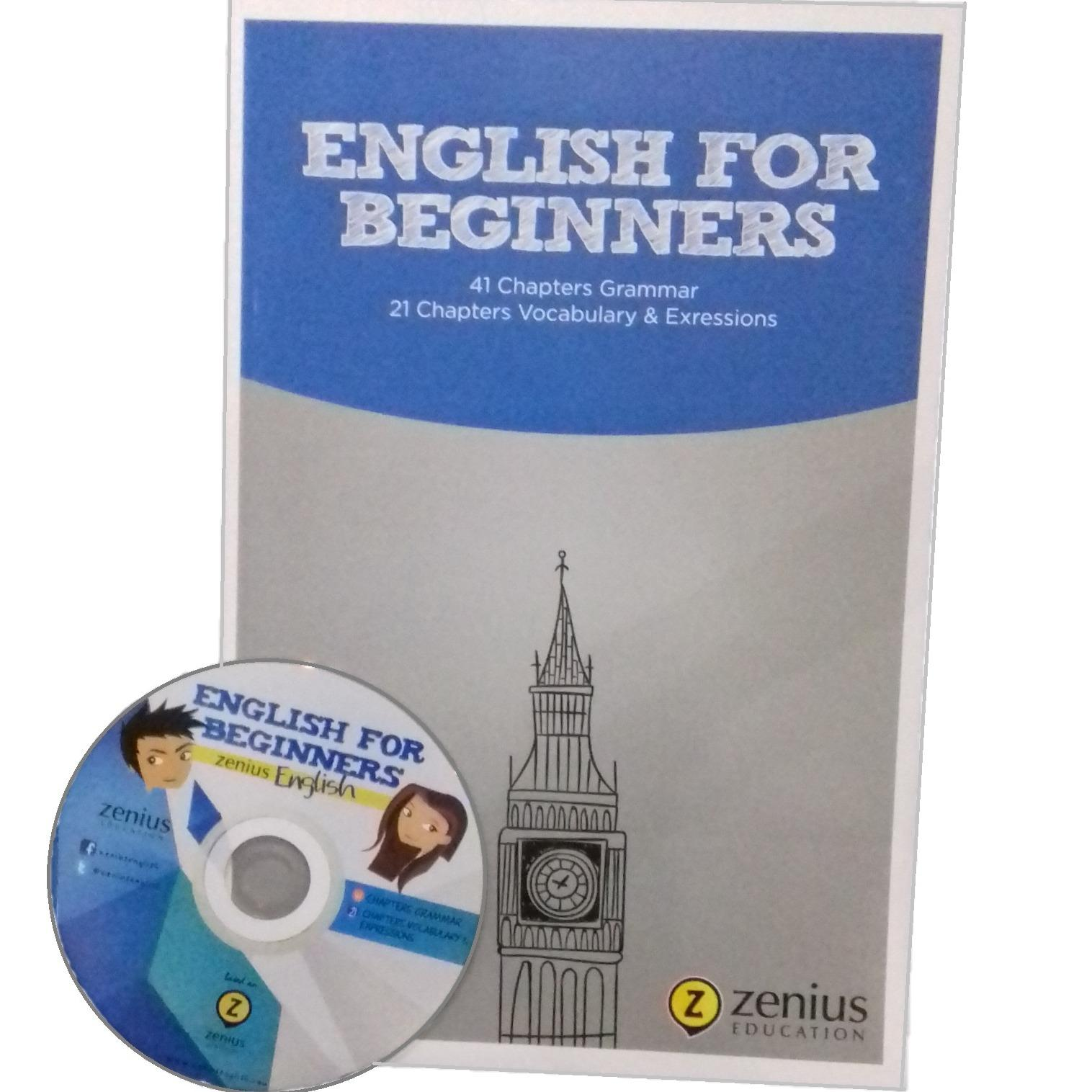 Zenius English for Beginners Buku