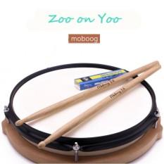 Kebun Binatang Di Yoo 1 Pair Oak Kayu 5a Stik Drum Jazz Stik Drum Rak Drum Stick Model 5a-Intl By Topmissdeng.