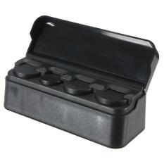 11 6X4X3 8 Cm Hitam Interior Mobil Koin Plastik Case Pemegang Kotak Penyimpanan Kontainer Penyelenggara Asli