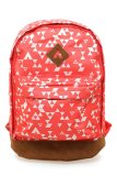 Spek Airwalk Langston Printed Backpack Bag Pink