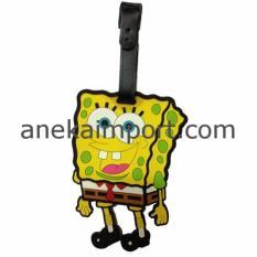 Harga Anekaimportdotcom Tanda Pengenal Koper Luggage Tag Label Koper Spongebob Murah