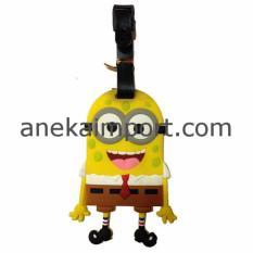 Toko Anekaimportdotcom Tanda Pengenal Koper Luggage Tag Label Koper Spongebob Lengkap