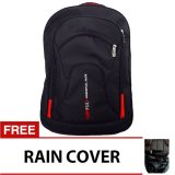 Jual Bag Stuff Campus Double Pocket Backpack Raincover Laptop Slot Grosir