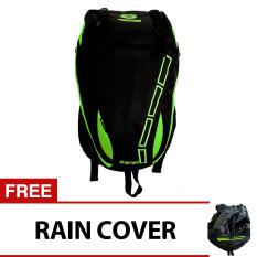 Cuci Gudang Bag Stuff Mount Trainer Laptop Backpack Raincover Hijau