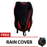 Jual Bag Stuff Mount Trainer Laptop Backpack Raincover Merah Murah