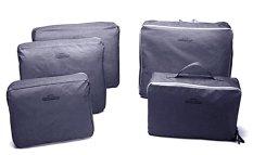 Ulasan Lengkap Bags In Bag Travel Set 5 In 1 Abu Abu
