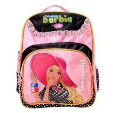 Toko Barbie B 929 Ransel 14 Merah Muda Hitam Termurah
