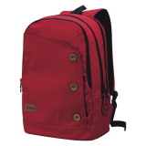Review Catenzo Tas Ransel Canvas St 033 Merah Catenzo