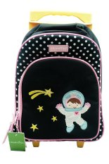 Toko Char Coll Trolley Bag Astro G*rl Hitam Online