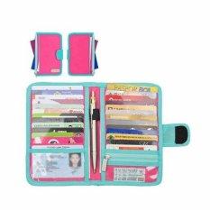 Jual Beli D Renbellony Card Holder Light Magenta Turquoise Dompet Kartu Tempat Kartu Atm Dompet Koin Baru Jawa Tengah