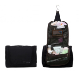 Promo D Renbellony Toiletries Bag Organizer Black Tas Toiletries Tas Travel Tas Perlengkapan Mandi Murah