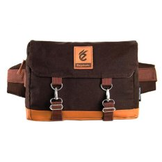 Harga Esgotado Backpack Bag Cinturo Primeiro Cokelat Muda Esgotado Online