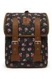 Jual Esgotado Backpack Bag Fintagio Floro Hitam Di Bawah Harga