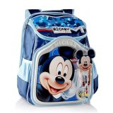 Diskon Greenery Disney Hongkong Ransel Mickey Mb8137A Blue Branded