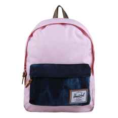 Promo Herschel Deerfield Backpack Pastel Pink Acid Denim Herschel
