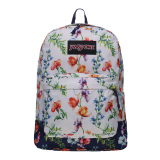 Jual Beli Jansport Black Label Superbreak Backpack Multi White Mountain Meadow Di Indonesia
