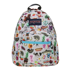 Review Jansport Half Pint Backpack Multi Stickers Jansport