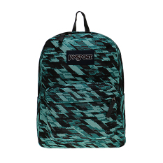 Beli Jansport Superbreak Backpack Aqua Dash Static Pake Kartu Kredit