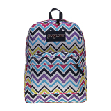 Promo Jansport Superbreak Backpack Multi Saucy Chevron Indonesia