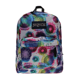 Promo Jansport Superbreak Backpack Multi Tie Dye Swirls