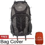 Harga Luminox Tas Hiking Backpack Ransel Travel Outdoor Carrier 5036 50 Liter Gratis Rain Cover Hitam Luminox Online