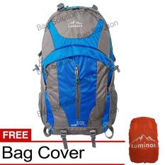 Toko Luminox Tas Hiking Backpack Ransel Travel Outdoor Carrier 5036 50 Liter Gratis Rain Cover Biru Lengkap Di Indonesia