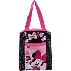 Spesifikasi Minnie Polkadot Mnhb 1201 8325 Tas Jinjing Pink Hitam Bagus