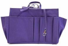 Beli Morning Bag Organizer Classic 12 Ruang Boc Ungu Seken