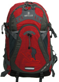 Beli Navy 9087 Club Hiking Backpack 50L Merah Pakai Kartu Kredit