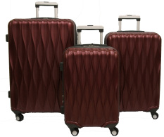 Jual Cepat Navy Club Carry Cart Abs 8176 20 24 28 Burgundy