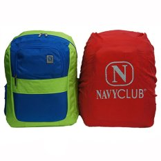 Harga Navy Club Tas Ransel Laptop Kasual 3265 Tas Pria Tas Wanita Tas Laptop Backpack Up To 15 Inch Bonus Bag Cover Hijau B Termurah