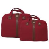 Beli Navy Club Travel Bag Duffle Bag Tas Pakaian Tas Pria Tas Wanita Tas Jinjing Dan Tas Selempang Bjhd 14 18 Inch Merah Cicil