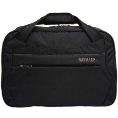 Promo Toko Navy Club Travel Bag Duffle Bag Tas Pakaian Tas Pria Tas Wanita Tas Jinjing Dan Tas Selempang 2029 Hitam