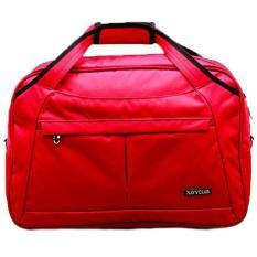 Navy Club Travel bag - Duffle bag New Arrival - Tas Pakaian Tas Pria Tas Wanita (Tas jinjing Dan Tas Selempang) 2028 - Merah