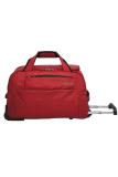 Jual Navy Club Travel Bag Trolley Duffle Bag With Trolley 2037 Merah Branded
