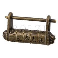 Toko Old Style Chinese Word Password Padlock Lock Key Termurah Tiongkok