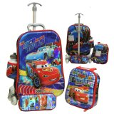 Review Onlan Cars Mcqueen 6D Timbul Anak 4In1 Set 6 Roda Blue Onlan