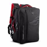Toko Palazzo Tas Ransel Backpack 3In1 Ransel Softcase Dan Slempang Hitam Yang Bisa Kredit