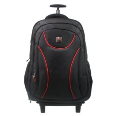 Harga Polo Classic 2054 21 Backpack Trolley 20 Black Fullset Murah